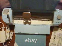 Used once Cricut Explore Air 2 DIY Cutting Machine Blue with tools & Pens