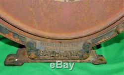 VINTAGE BALCRANK RARE AIR METER HOSE REEL GAS STATION PUMP ORIGINAL 1930s