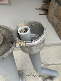Vintage Eco Air Meter Stand And Light Post Combo Air Meter