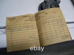 Vintage UNISYN 60s Carburetor tuneup auto gm pontiac ford hot rod porsche chevy