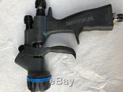 Walcom carbino geo 360 carbon fiber spray gun SATA Iwata BASF ppg axalta