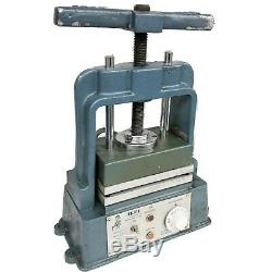 Wax Injector 2 3/4QT ARBE air pressure & ARBE MOLD VULCANIZER WORKING CONDITION