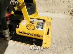 Weatherhead Eaton T-462-2 Air Powered Hydraulic Hose Crimper Crimping Tool